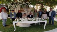 Meslektaşımız Harun Gökçeoğlu, en mutlu gününü oğlunun düğünüyle yaşadı