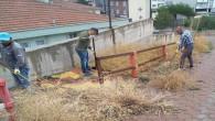 Sarıkaya'da sosyal ve kamusal alanlarda hummalı temizlik