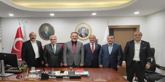 Yozgat SMMMO Başkan ve üyelerinden Soysal'a ziyaret