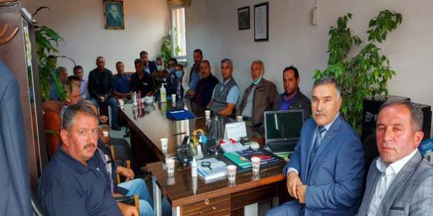 Muhtarlardan TSO Başkanı Kahraman'a ziyaret