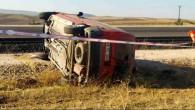 Yozgat'ta trafik kazasında bir kişi öldü