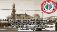İstanbul Yozgatlılar Federasyonu Genel Başkanı Yılmaz'dan kandil mesajı