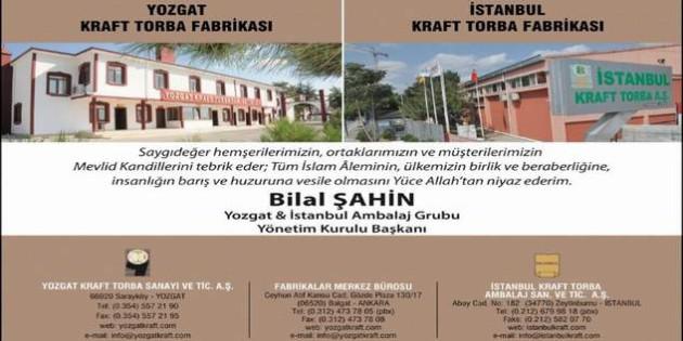 Hayırsever İşadamı Bilal Şahin Yozgat halkının Mevlid Kandilini kutladı