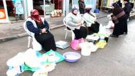 Köylü kadınlar kendileri üretip satıyor