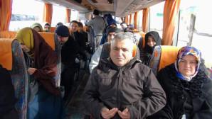 Hayırsever işadamı Şahin, 106 kişiyi Umreye gönderdi