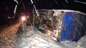 Yozgat'ta Kaza: 1 Astsubay Şehit, 6'sı Asker 10 Yaralı