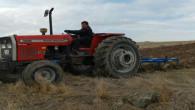 Yozgat çiftçisi aspir ekimi için hazırlıklara başladı