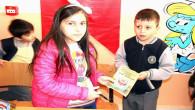 10 yaşındaki öğrenci, yazdığı kitabı için imza günü düzenledi