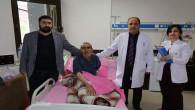 75 yaşındaki hasta ameliyatla tıkanan damarı açılarak felç olmaktan kurtuldu