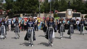 Yozgat Halide Edip Mesleki ve Teknik Anadolu Lisesi Hıdrellez Bahar Şenliği büyük beğeni topladı