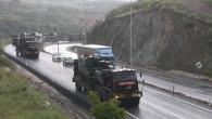 Terörle mücadele kullanılacak Obüs topları Yozgat'tan geçti
