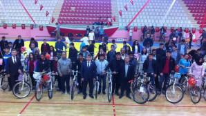 Yozgat Halk Sağlığı Müdürlüğünden öğrencilere 407 bisiklet