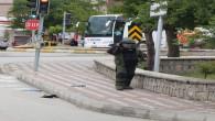 Yozgat'ta şüpheli çanta paniğe sebep oldu