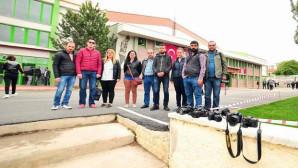 19 Mayıs kutlamalarını takip etmek isteyen gazetecilere polis engeli