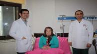 Bozok Tıp'ta ilk defa kapalı yöntemle göz ameliyatı yapıldı