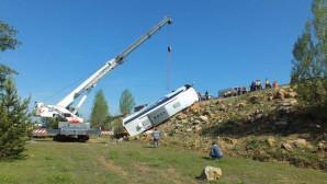 Yozgat'ta bir haftada 3.ncü Otobüs kazası: 3 ölü, 15 yaralı