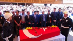 Şehit Özel Harekat Polisi dualarla son yolculuğuna uğurlandı