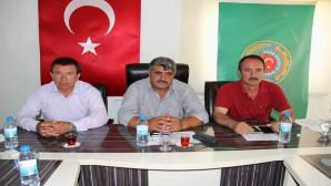 Yozgat'ta ziraat odaları başkanlarından darbe girişimine ortak tepki