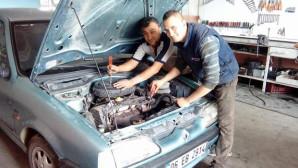 Oto tamir ustalarından araç sahiplerine uyarı