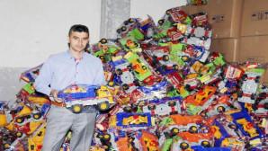 Yozgat'ta üretilen oyuncaklar Çin malı oyuncaklara rakip oldu