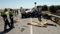 Bayramda trafik terörünün bilançosu ağır oldu: 74 ölü, 615 yaralı