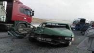 Tarladaki anız yangını trafik kazasına sebep oldu 1 kişi öldü