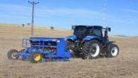 Yozgat'ta toprak işlemsiz ekimi uygulaması devam ediyor