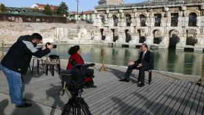 Vali Yurtnaç: Tarihi Roma hamamının bugüne kadar gündeme taşınmaması ilginç