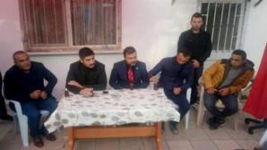 Yozgat Ülkü Ocaklarından şehit ailesine taziye ziyareti