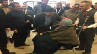Milletvekili Başer: Şehir hastanesini gezdi, hastalarla sohbet etti