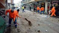 Yozgat Belediyesi kar temizleme çalışmasını sürdürüyor
