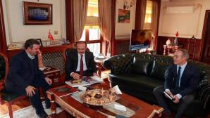 Anadolu Ajansı Sorumlusu Ertuğrul'dan Vali Yurtnaç'a ziyaret