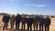 Yozgat'tan gönderilen sarma ve börekler askerlerimize ulaştırıldı