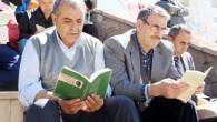 Cumhuriyet Meydanında kitap okuma etkinliği