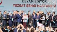 Başbakan Yıldırım, Yozgat Şehir Hastanesinin açılışını yaptı