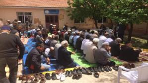 Yerköylü çiftçiler yağmur duasına çıktı