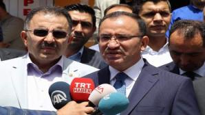 Adalet Bakanı Bozdağ, Yozgat'ta bayramlaşma törenine katıldı