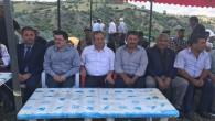 Milletvekili Başer, köy ziyaretinde şenliklere katıldı
