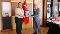 Albay Yıldırım'dan Rektör Karacabey'e veda ziyareti