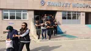 Yozgat'ta uyuşturucu operasyonunda 8 kişi tutuklandı