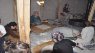 Yozgatlı ev hanımları kışlık yufka ekmeği yapımına başladı