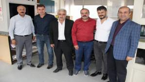 Yozgat SMMMO Başkan ve üyelerinden gazetemize ziyaret