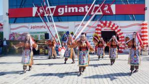 Gimat 11.nci şubesini 100. Yıl Sanayi Sitesi girişinde açtı