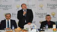 AK Parti'li Karacan, Yozgat'ta STK'larla bir araya geldi