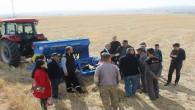 Yozgat'ın 4 köyünde toprak işlemsiz ekim yapıldı