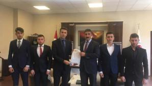Yozgat Ülkü Ocaklarından Başsavcı Ataman'a ziyaret