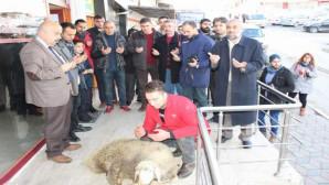 Çamlık Gazetesi yeni bürosu dualarla açıldı