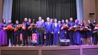 Cumhuriyet Ortaokulu Öğretmenler korosu coşturdu