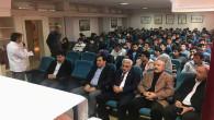 SMMMO Başkanı Bulut'tan Muhasebe bölümü öğrencilerine seminer