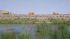 Kuyumlu göleti 3 Bin dekar tarım alanını sulayacak